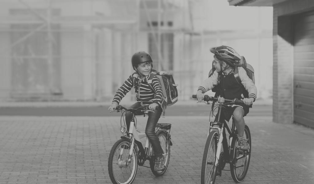 Hverdagsaktiviteter og transport på cykel til og fra skole
